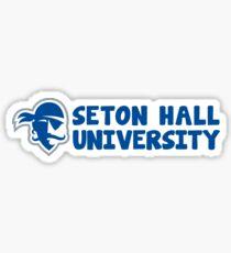 Seton Hall University Sticker
