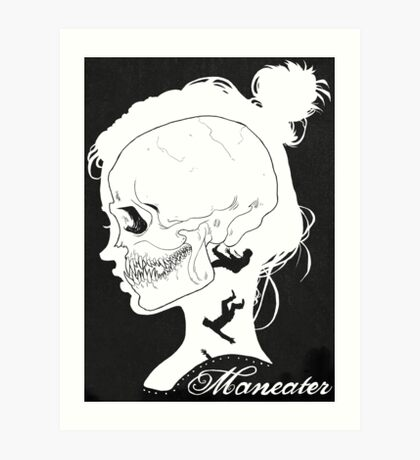 Maneater Art Print
