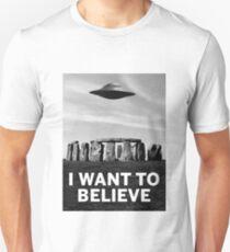 Want2believe (Stonehenge) Unisex T-Shirt