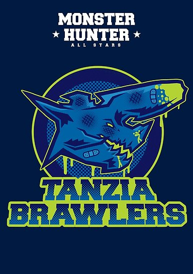 Monster Hunter All Stars - The Tanzia Brawlers by bleachedink
