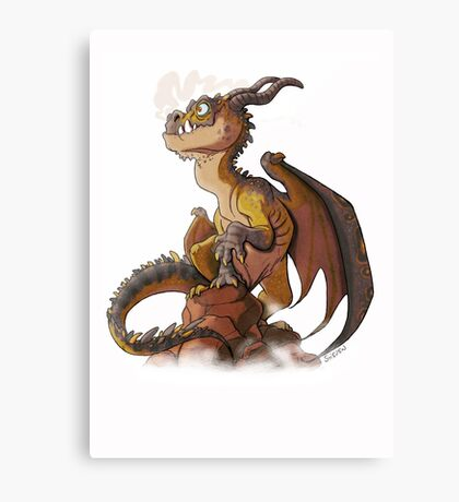 It's a dragon! Canvas Print
