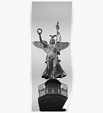 Victory Column, Berlin Poster