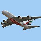 Emirates Airlines Airbus A380-861 von Graham Taylor