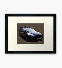 Automotive Splatter Framed Print