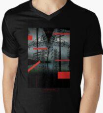 AXIS OPENWORK Men's V-Neck T-Shirt