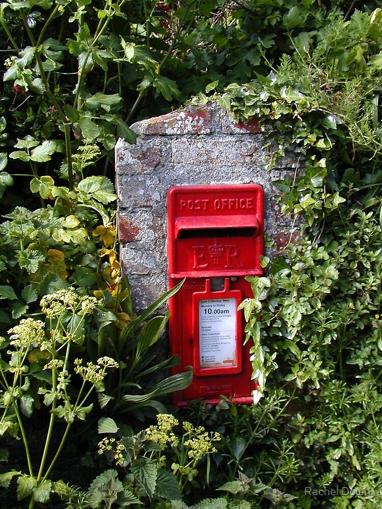 Cornish letterbox by Rachel Down