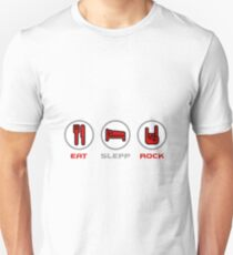 Eat Sleep and Rock T-Shirt
