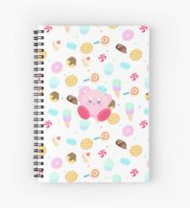 Kirby & Sweets Spiral Notebook