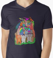 El Castell de Fauna Men's V-Neck T-Shirt