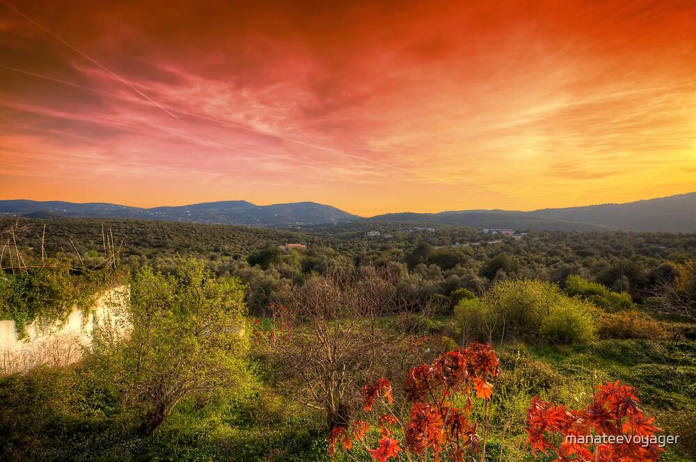 Sao Bras de Alportel Sunset by manateevoyager