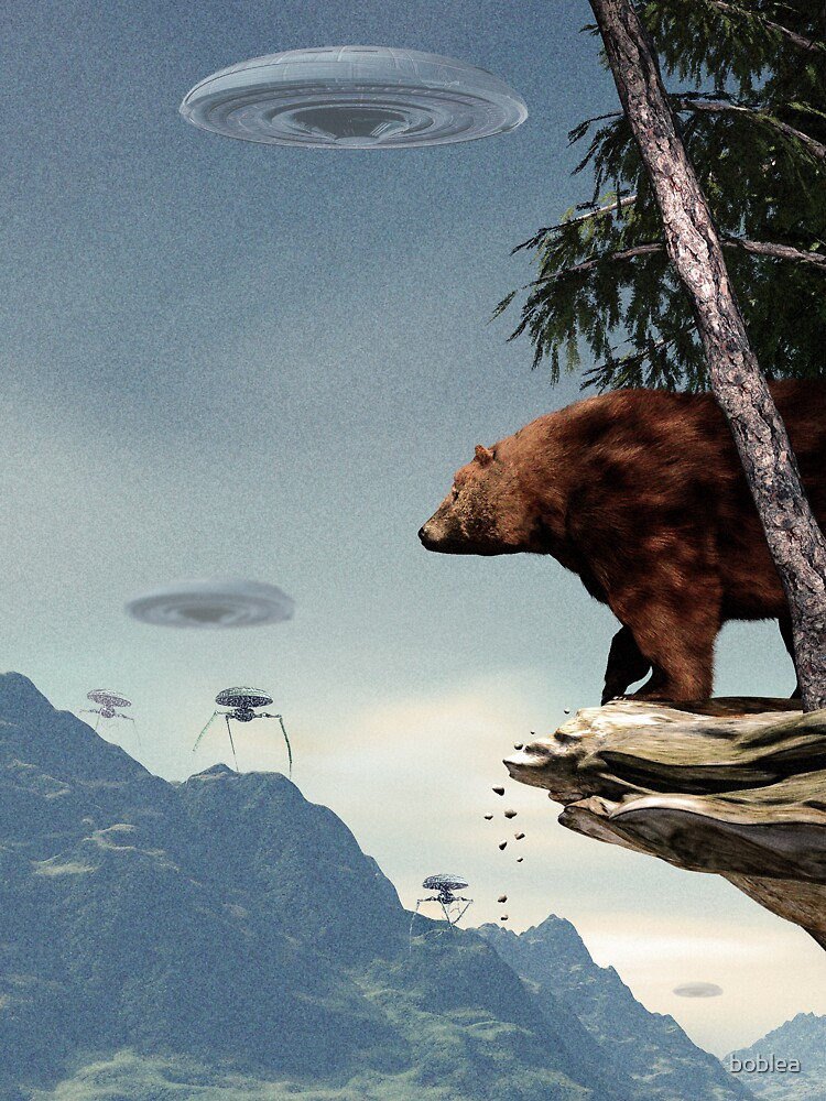 Do Aliens Get Grizzly? by boblea