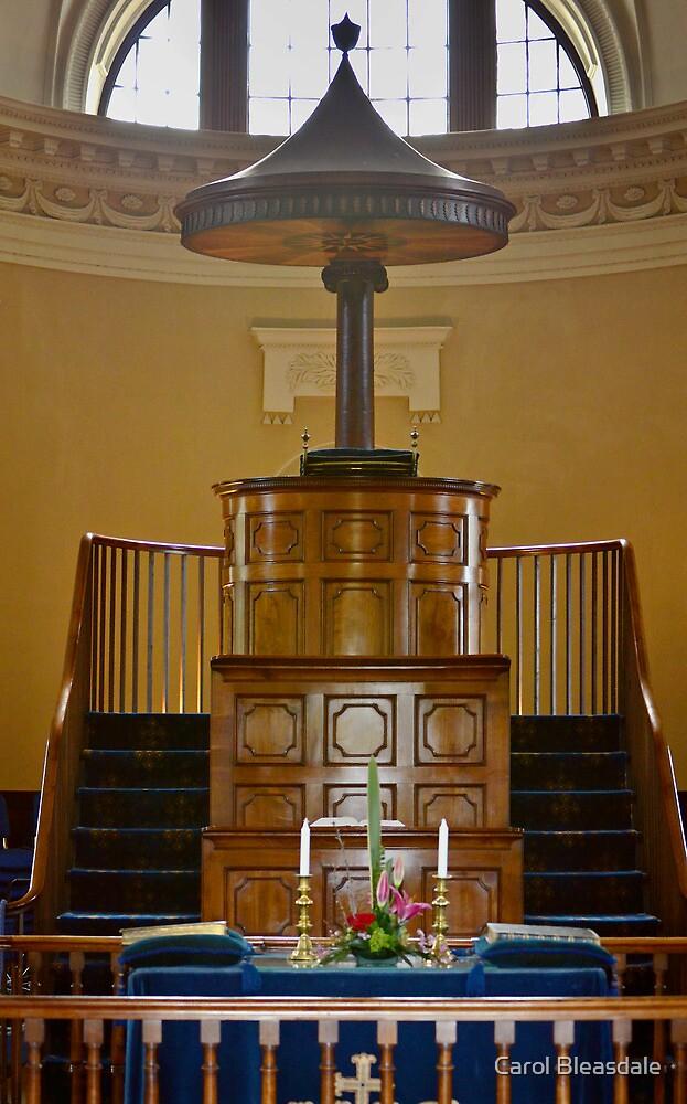 Inside the Gibside Chapel by Carol Bleasdale