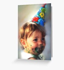 """Little Comic Clown..."" Greeting Card"