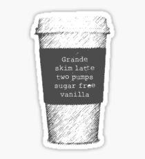 Beckett's Coffee Sticker