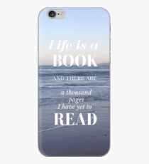 Life is a Book- Cassandra Clare- Beach iPhone Case