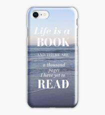 Life is a Book- Cassandra Clare- Beach iPhone Case/Skin