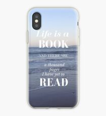 Life is a Book- Cassandra Clare- Beach iPhone Case