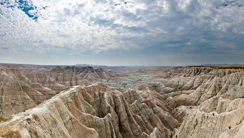 Panorama Point - Badlands National Park, South Dakota by Jason Heritage