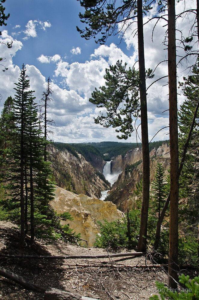 Artist Point - Yellowstone National Park, Wyoming by Jason Heritage