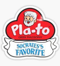 Pla-to Sticker