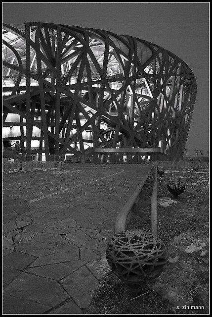 鸟巢 The Bird's Nest by qishiwen