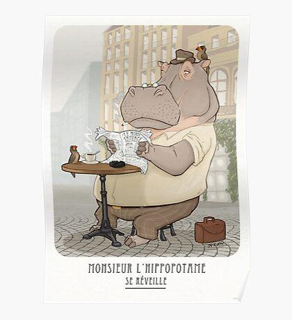 Mr. L'Hippopotame Poster