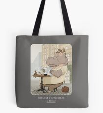 Mr. L'Hippopotame Tote Bag