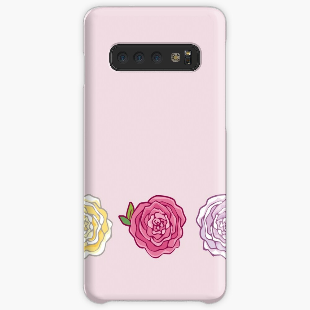 Decorative Roses Case & Skin for Samsung Galaxy