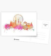 London skyline underground Postcards
