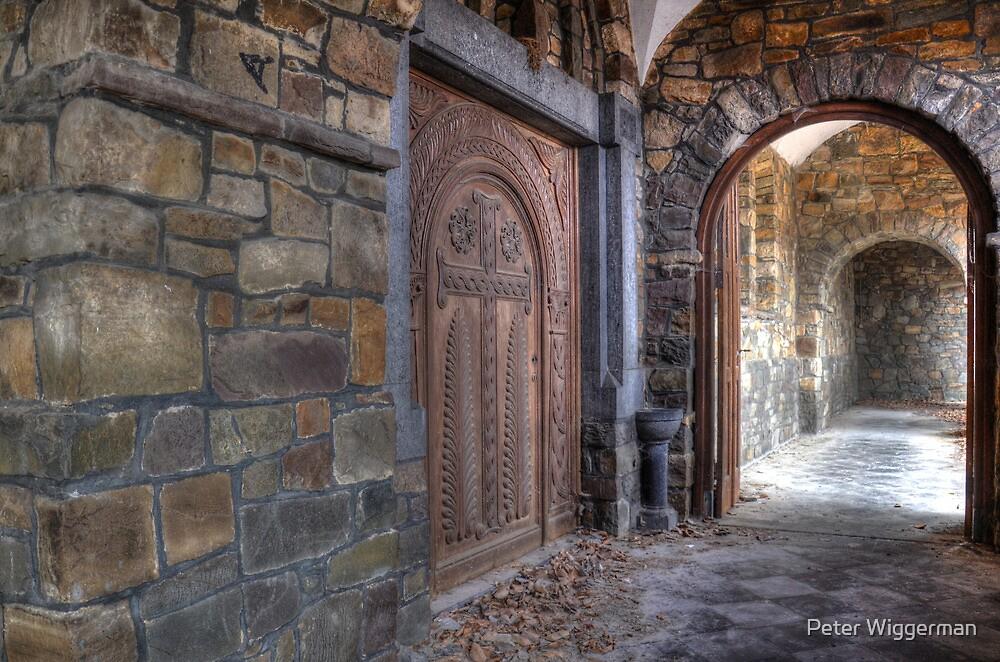 Chapel entrance by Peter Wiggerman