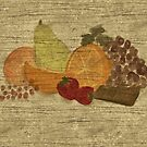 Still Life with Fruit and Chocolate by Sarah Countiss