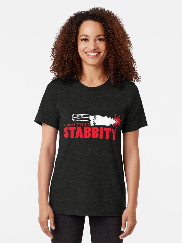 Alternative Ansicht von Ich fühle mich ein bisschen Stabbity Vintage T-Shirt