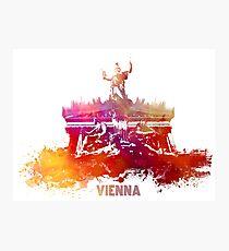 Vienna skyline Photographic Print
