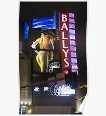 Ballys Las Vegas, Nevada Poster