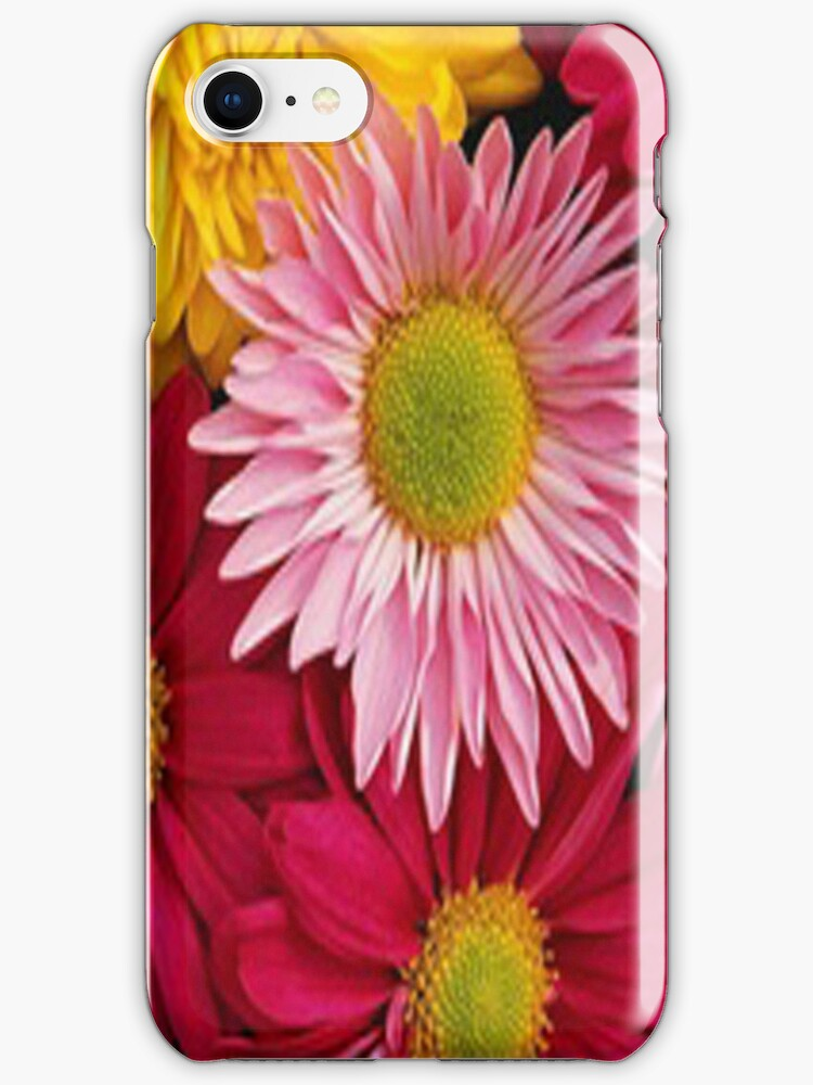 Flowers - iphone case by ksully