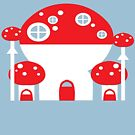 Mushroom Home by Rosemary Black