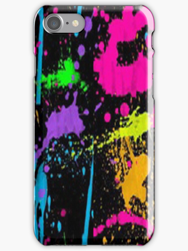 Splater paint-Iphone case by ksully