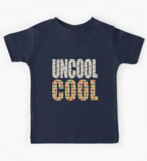 DR WHO - COOL Vs UNCOOL Kids Tee