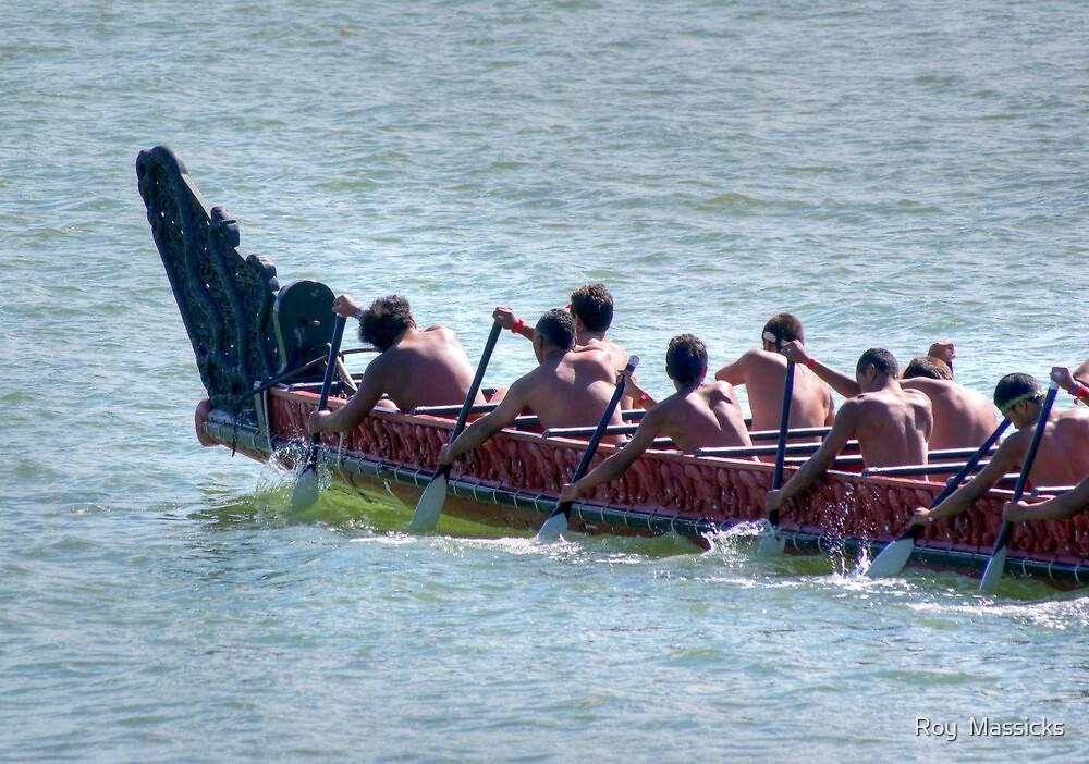 Waitangi Day spectacle.......! by Roy  Massicks