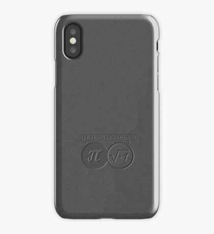 Get Real – Be Rational VRS2 iPhone Case