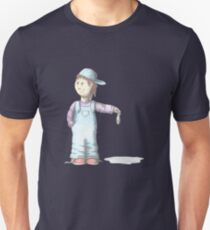 Boy with Tuna fish Unisex T-Shirt
