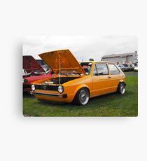 VW GOLF Canvas Print