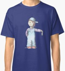 Boy with Tuna fish Classic T-Shirt
