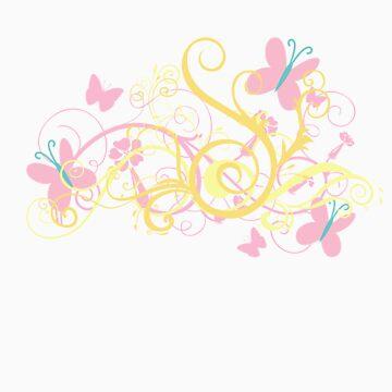 Fluttershy Swirl by owlbert