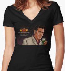 Chuck Finley Women's Fitted V-Neck T-Shirt