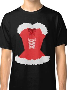 red santa corset christmas corset Mrs Claus Classic T-Shirt