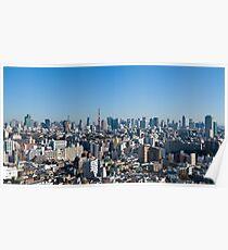 Tokyo downtown Poster
