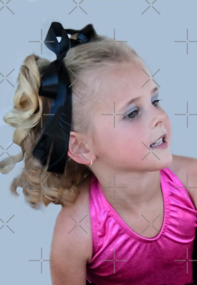 Little Performer Portrait by Heather Friedman