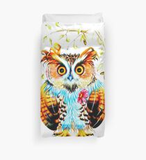 The most beautiful Owl Duvet Cover