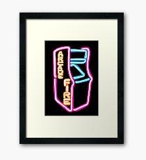 Arcade Fire Neon Framed Print
